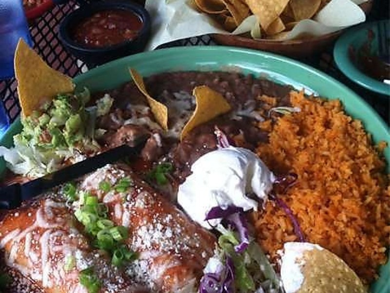 Perfect ... Enchiladas Los Patios Mexican Restaurant Old Town San Clemente Orange  County California
