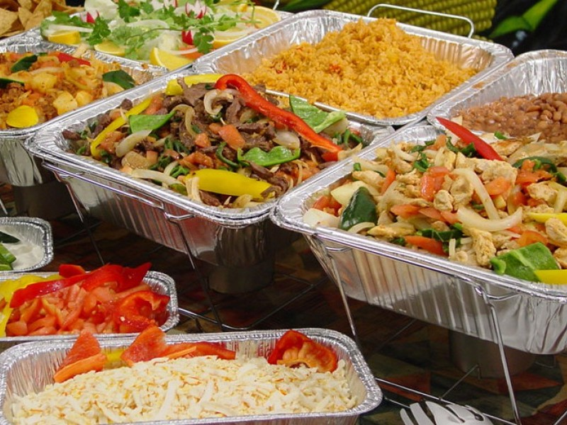 Mexican Party Catering Dishes - Los Patios Restaurant - Old Town San Clemente - Orange County
