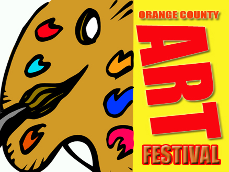 Orange County Art Festival - Laguna Riviera Art Gallery - Old Town Square San Clemente CA