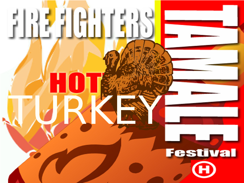 TURKEY Tamale Festival - Tamales, Salsa, Hot Sauce & Chili Festival - Thanksgiving - Old Town Square San Clemente CA